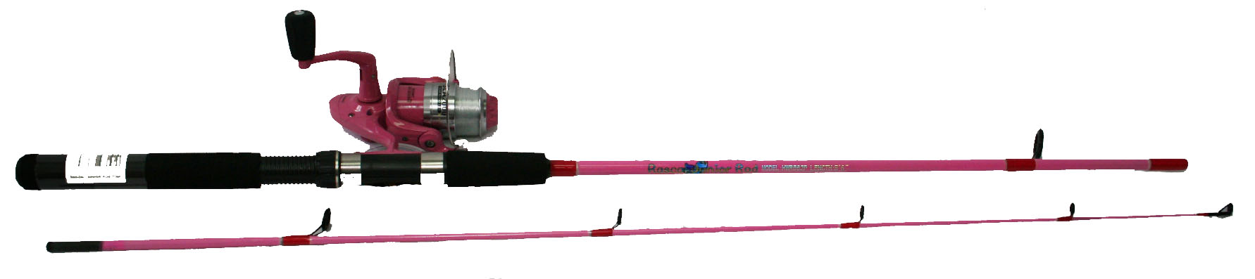 Fishing tackle rods reels lures lines accessories for Pink fishing rod